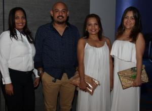 Ainsley Barboza, César Ortiz, Elizabeth Franco y Katia Molina.