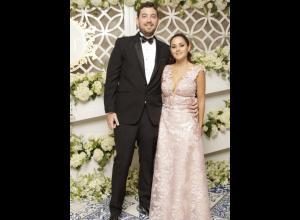 Carlos Villegas y Thalía Segrera.