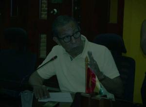 César Pión, concejal citante del debate.