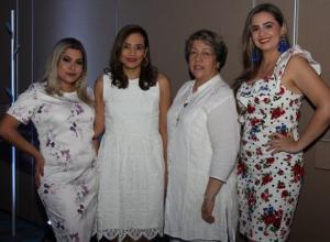 Liliana Mendoza, Katya Cárdenas, María Claudia Padilla y Yina Rueda.