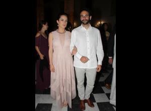 Luisa Ferreira y Pablo Obregón.