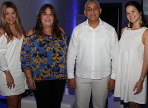 Oriana Morales, Patricia Cadena, Rafael Uribe y María Camila Carrascal.