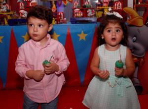 Sebastián Betancourt y Fiorela Diazgranados.