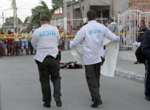 Asesinato en el barrio Olaya Herrera