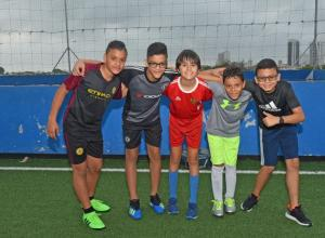 Jesús Hernández, Juan David Hernández, Mario Manzanares, Santiago Padilla y Adrián Paz.