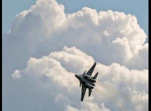 Avión de caza ruso