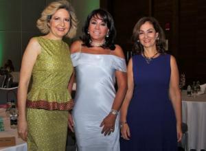 Carolina Calderón, Mayra Rodríguez y María Claudia Trucco.