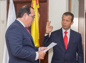 Heriberto Sanabria Astudillo, nuevo presidente del CNE