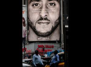 Campaña de Nike con Colin Kaepernick.