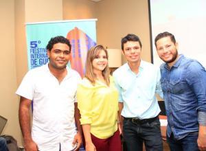 Eduardo León, Yuli Sáenz, Sander San Gregorio y Andrés López.