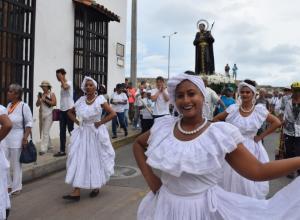 Actos culturales por la fiesta de San Pedro Claver, organizada por el Santuario San Pedro Claver.