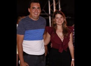 Gilberto Gómez y Fara Alíes.