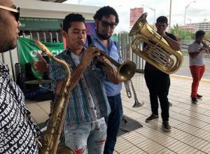 Jazz en estación de Barranquilla