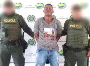 Luis Martínez Barboza, capturado.