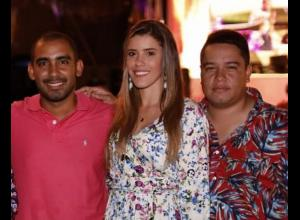 Mauricio Pretelt, Kelly Gaviria y Armando Cabrales.