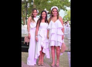Nora Serrano, Lauren Moreno y Yaneth Narváez.