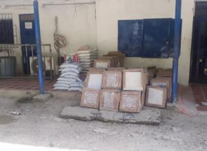 Obras en la cárcel de Ternera en Cartagena