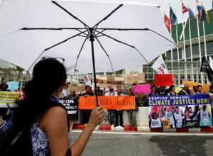 Activistas medioambientales protestan en Tailandia