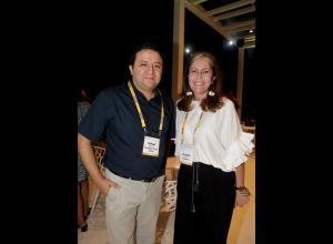 Rafael Martínez y Victoria Huertas.