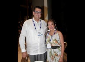 Ricardo Barrera Medina y Petra Ramos.