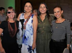 Roxana Segovia, Mónica Fadul, María Claudia Peñas y Alejandra Espinosa.