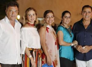 Santiago Sánchez Gómez, María Claudia Páez Mallarino, Fanny Guerrero, Edna Ardila y Rolando Bechara.