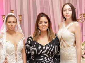 Stephania Guerrero, Rosiris Miranda y Jessica Castro.