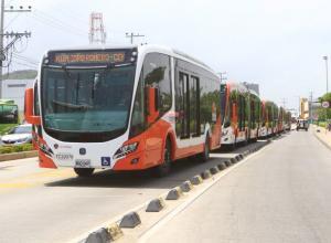 Bus de Transcaribe.