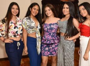 Vanessa García Castaño, Tatiana Gómez Martínez, Luisa Fernanda Gómez Alzate, Natalia Torres Buelvas y Daniela Herrera.
