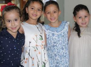 Antonella Naranjo, Juanita Zuluaga, María Belén Gómez y María Emilia Anillo.
