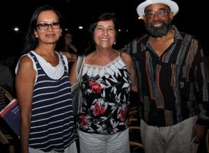 Martha Sánchez, Bibiana Vélez y Pedro Blas Julio.