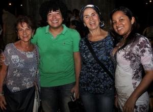 Victoria Cárdenas, Alejandro Salgado, Yolanda Hurtado y Janeis Morales.