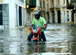 Lluvias en Cartagena