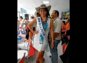 Daniela Durán Díaz, candidata de Bolívar.